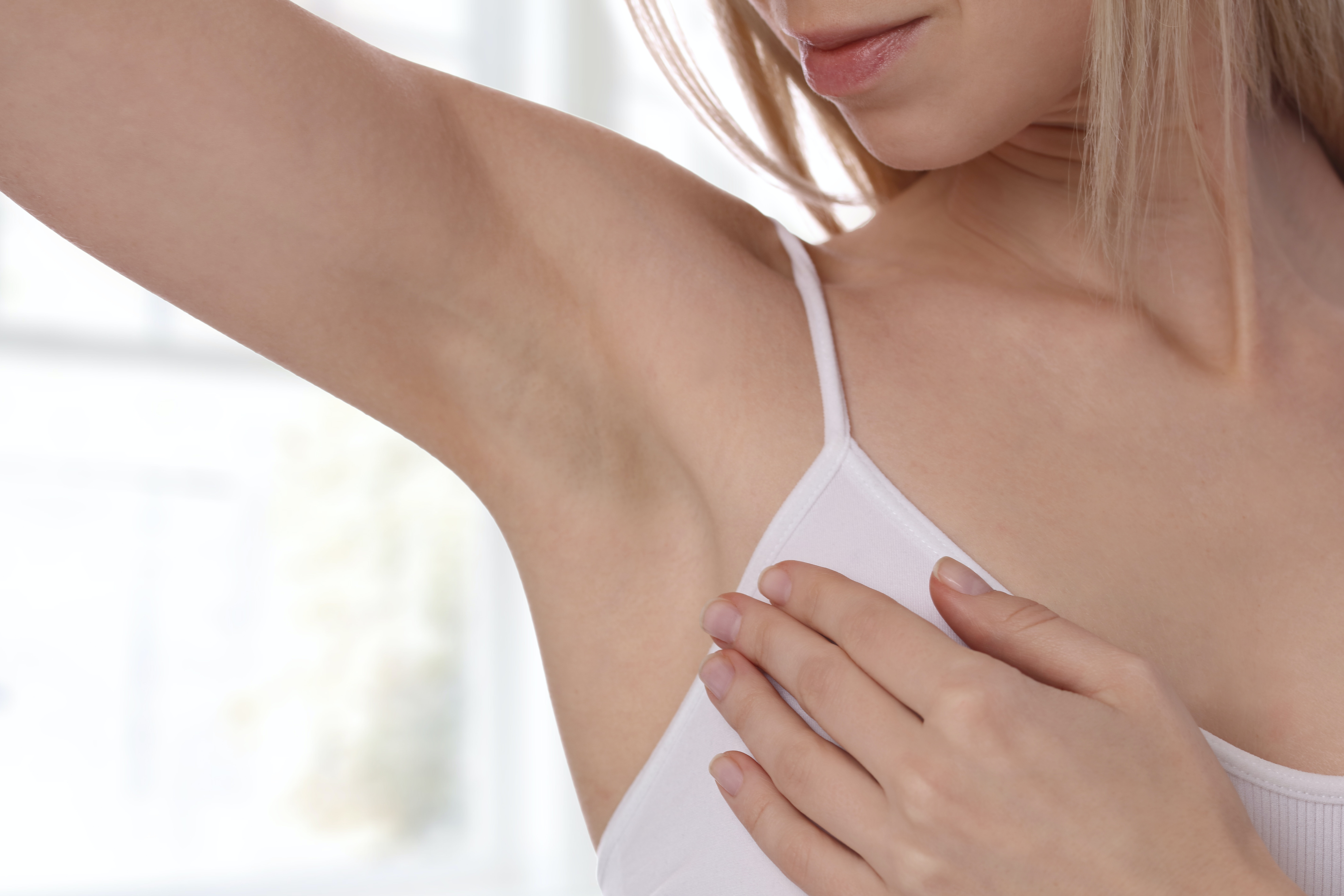 What should I do if my armpits sweat