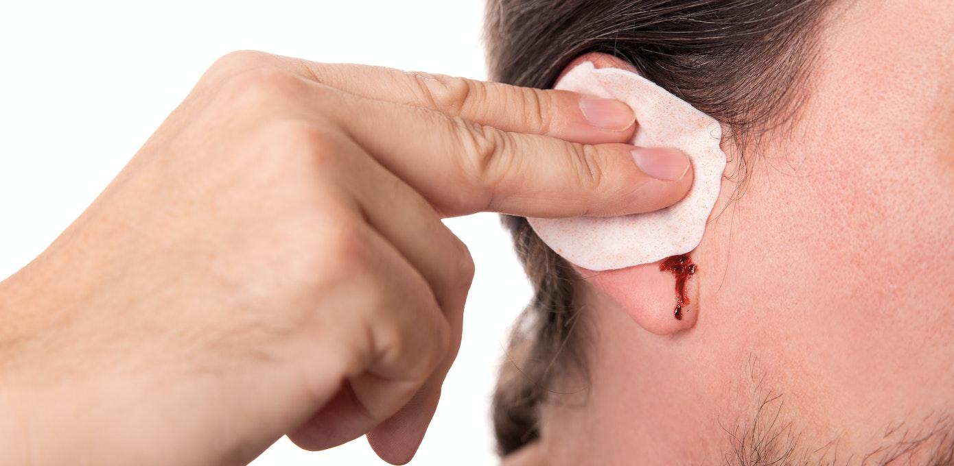 patch over eardrum