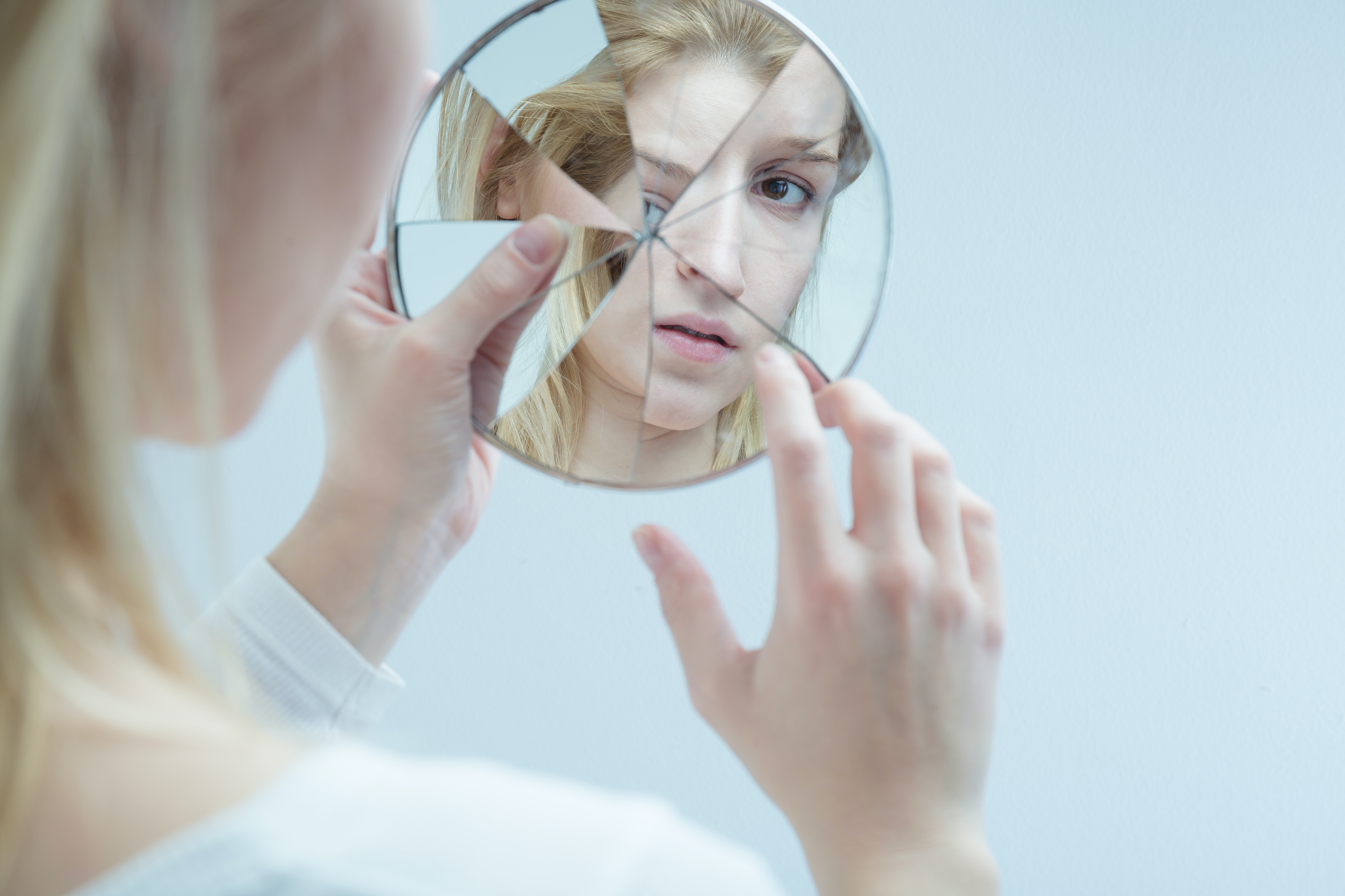 An image depicting a person suffering from Borderline Personality Disorder symptoms