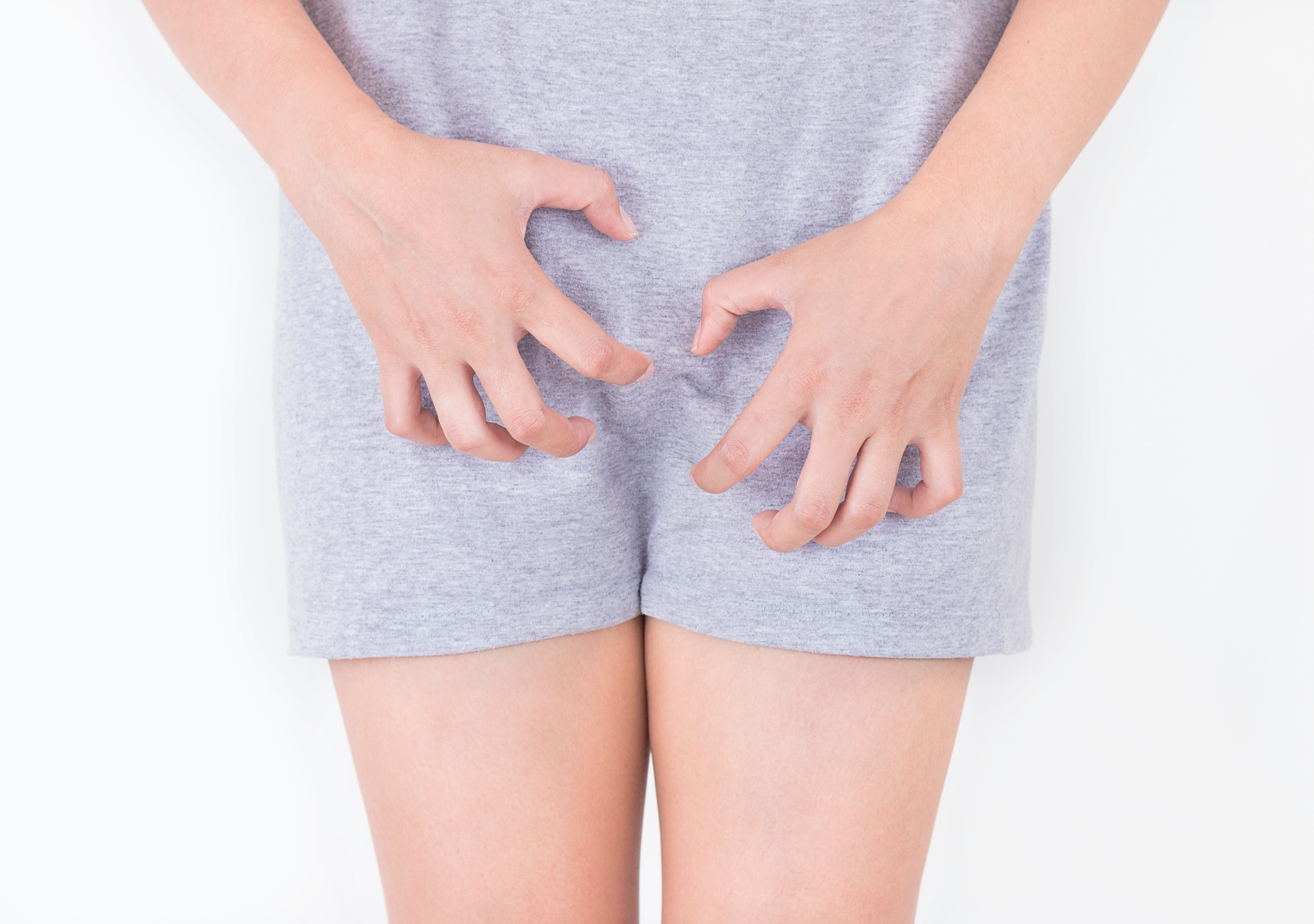 What causes irritation in the groin