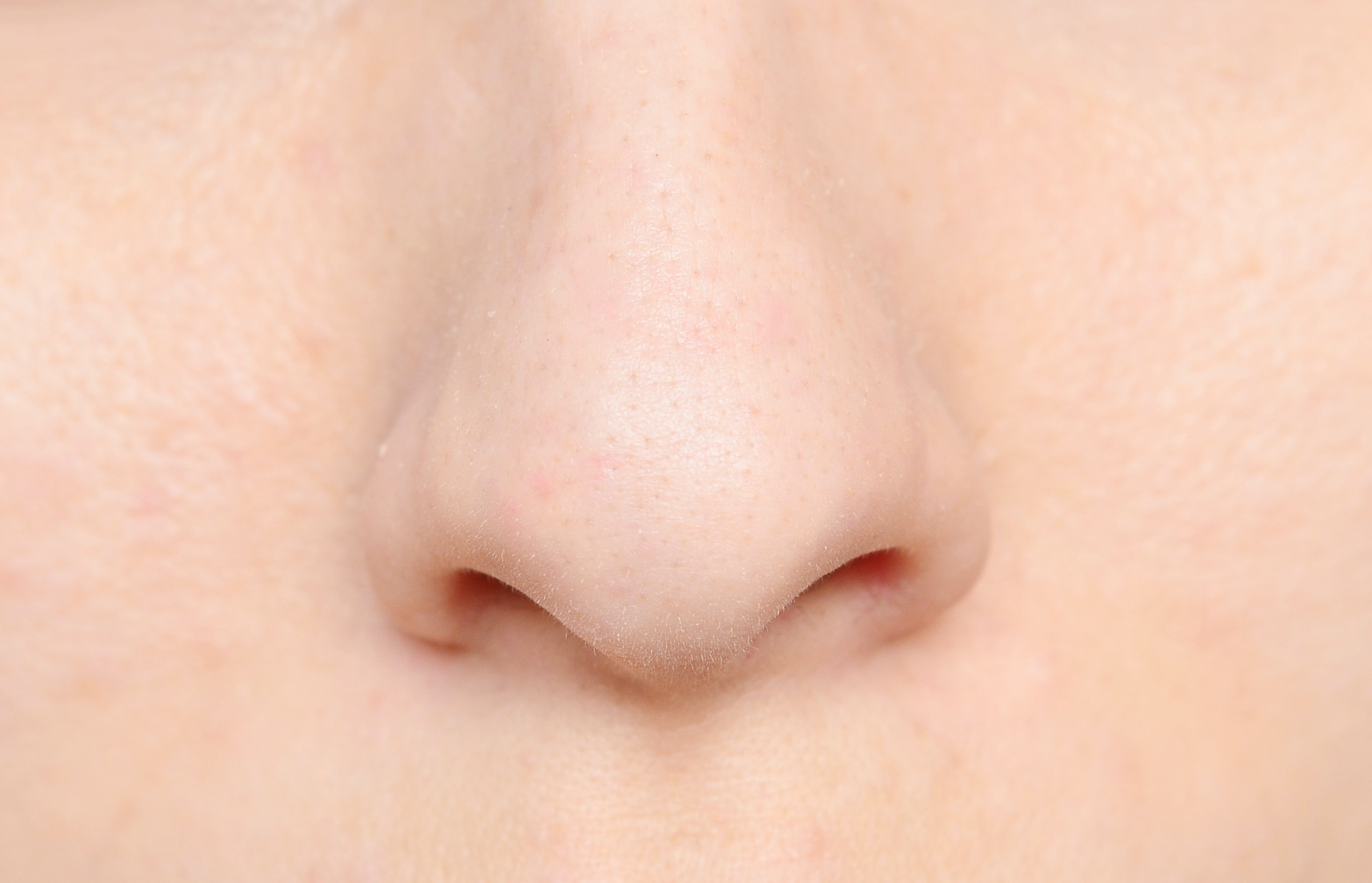 An image depicting a person suffering from numb nose symptoms