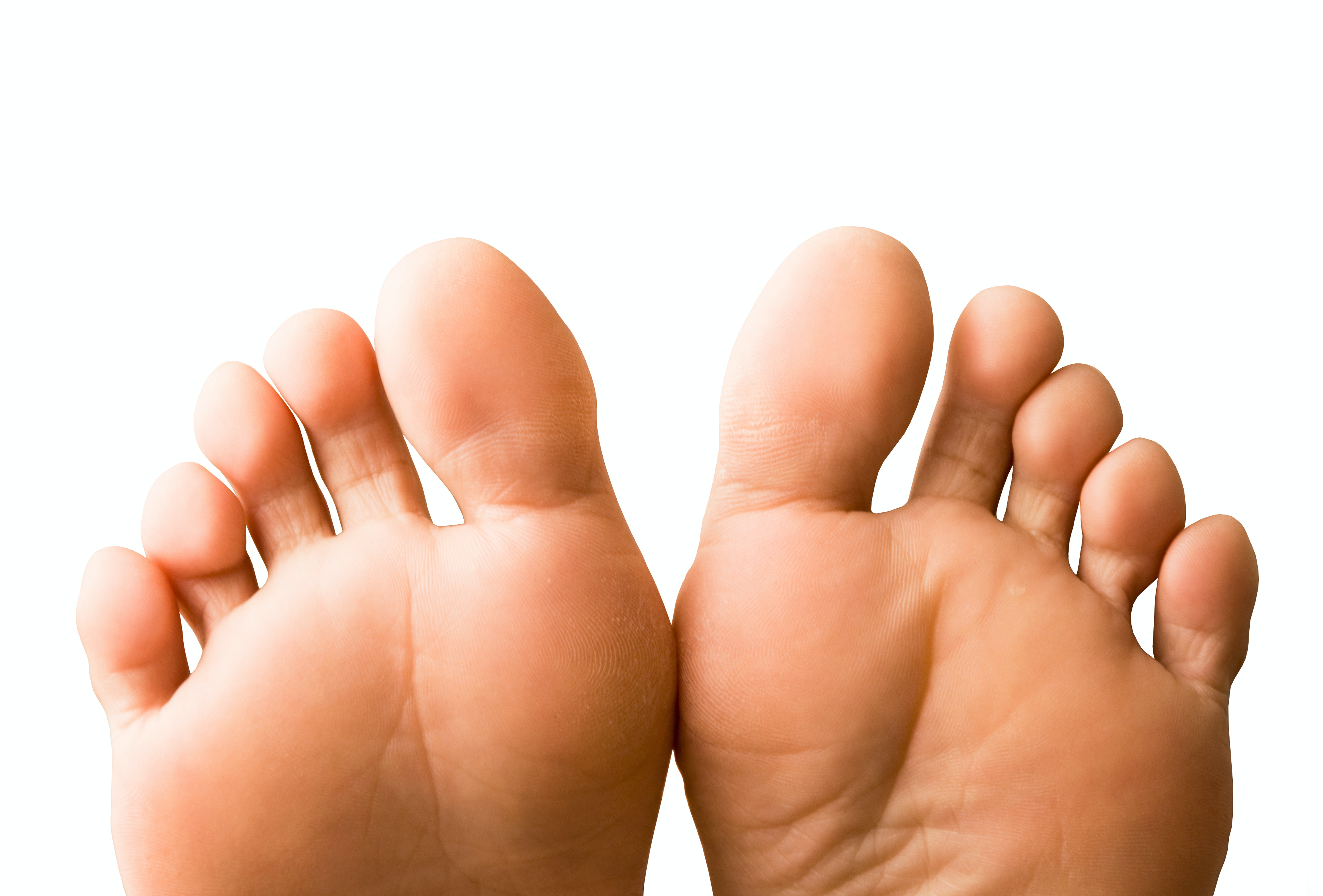 An image depicting a person suffering from swollen toes symptoms