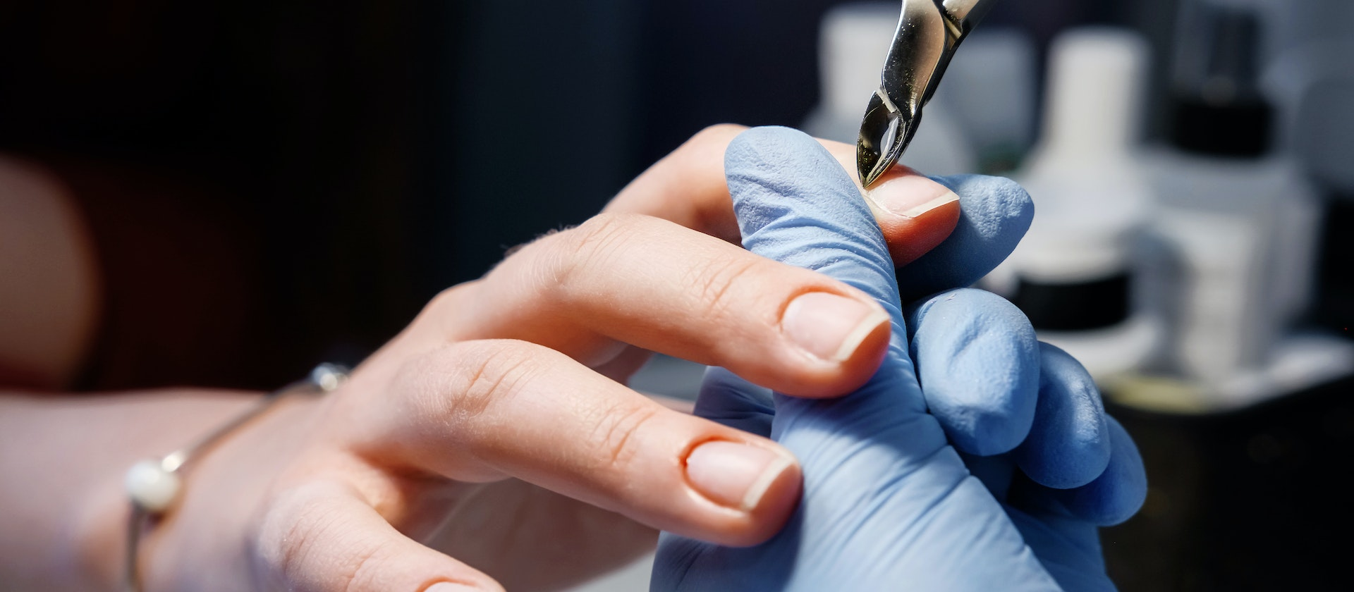 A Person Experiencing Thick Cuticles Symptoms